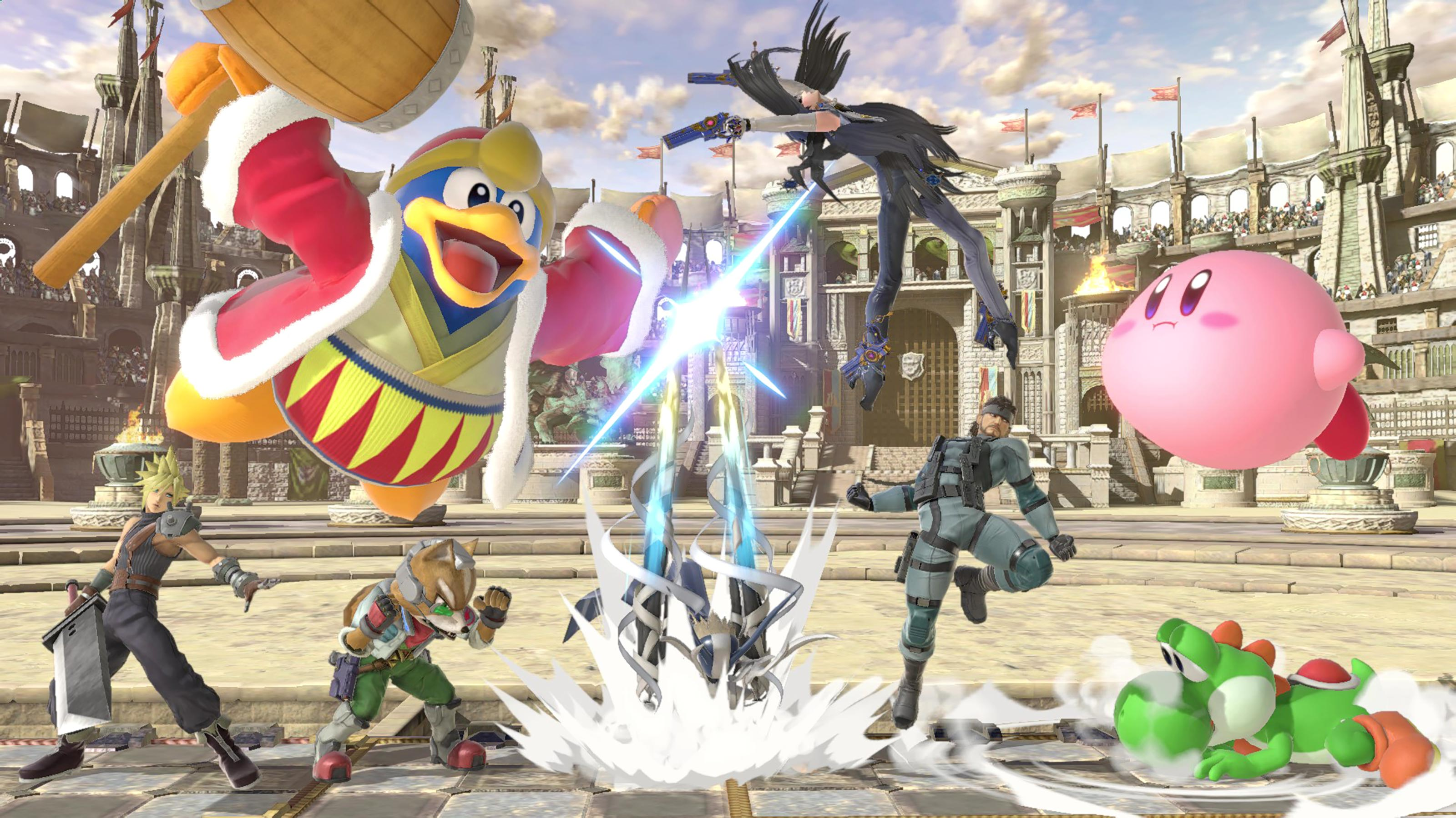 Super Smash Bros  Ultimate download and install file size