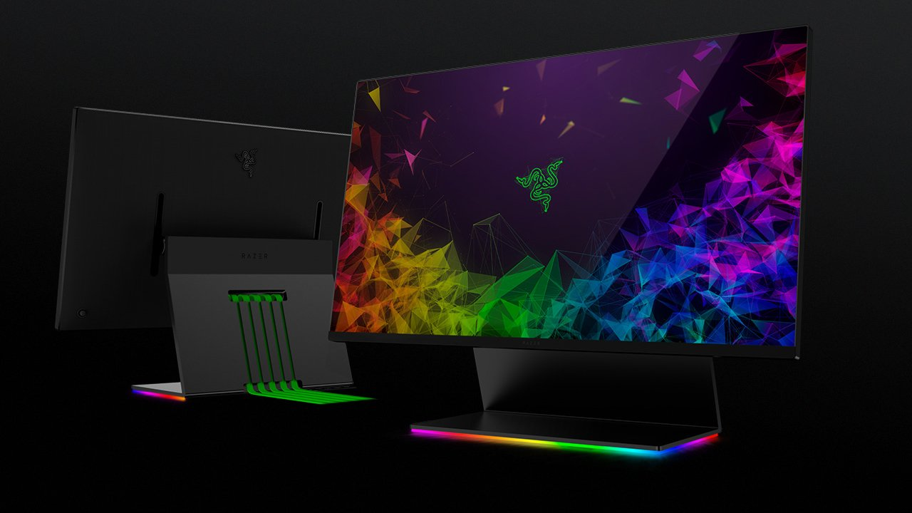 Razer showcases new Raptor 27-inch 144hz gaming monitor