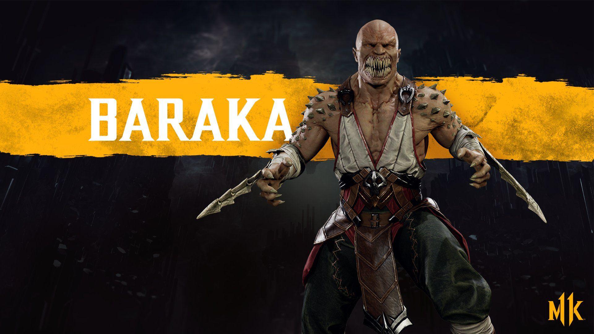 Baraka Returns For Mortal Kombat 11 Character Roster Shacknews