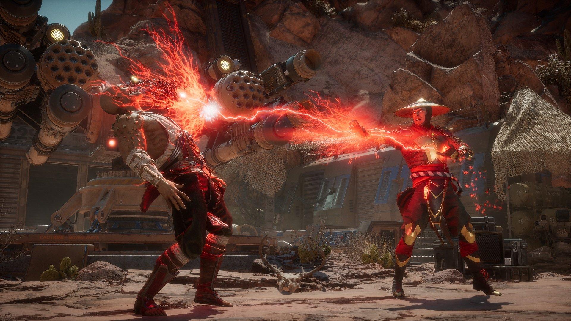 Mortal Kombat 11 All Spawn Vs. Raiden Dialogue - YouTube