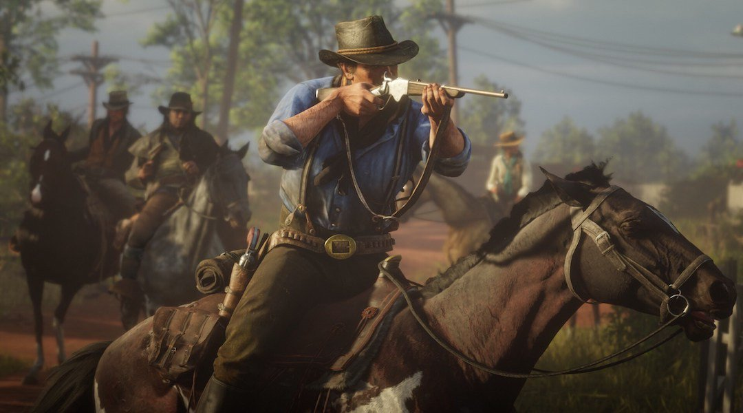 Rdr2 S Roger Clark Had To Re Record His Famous Horse Line Shacknews