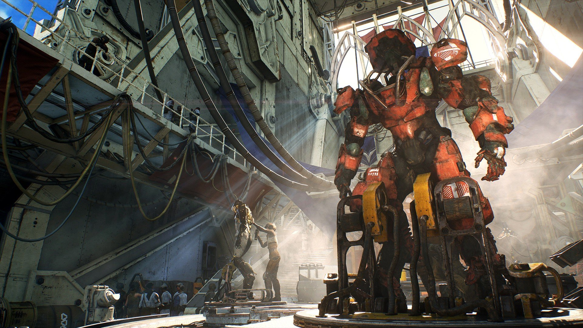 Deactivate barrier and solve Manifold puzzle in Anthem