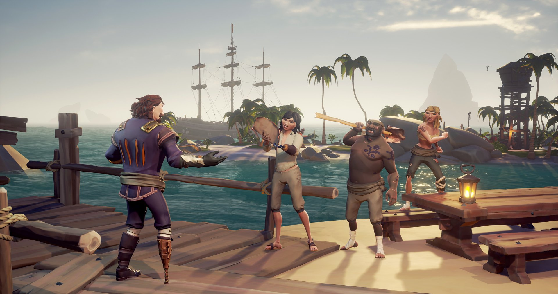 How to get the Sea of Thieves codes for Friends Play Free