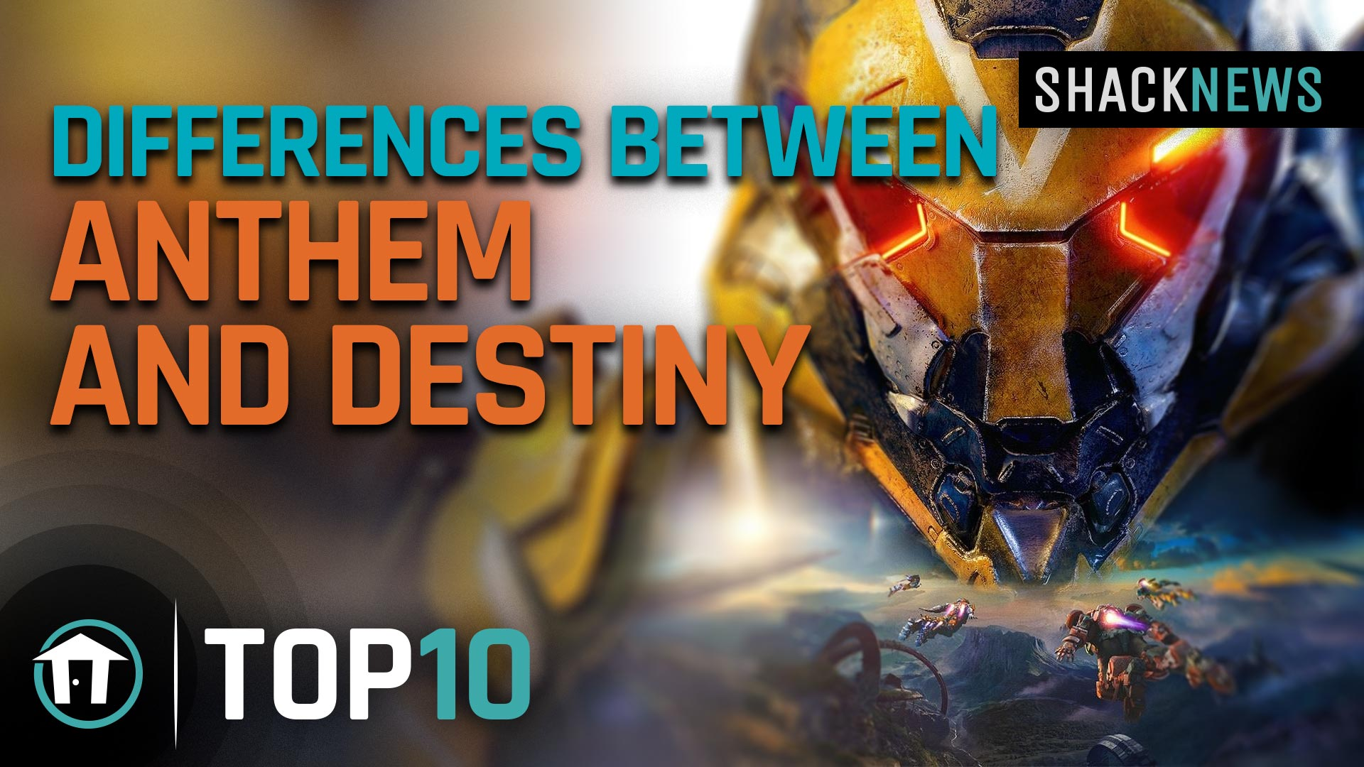 Top 10 differences between Anthem and Destiny