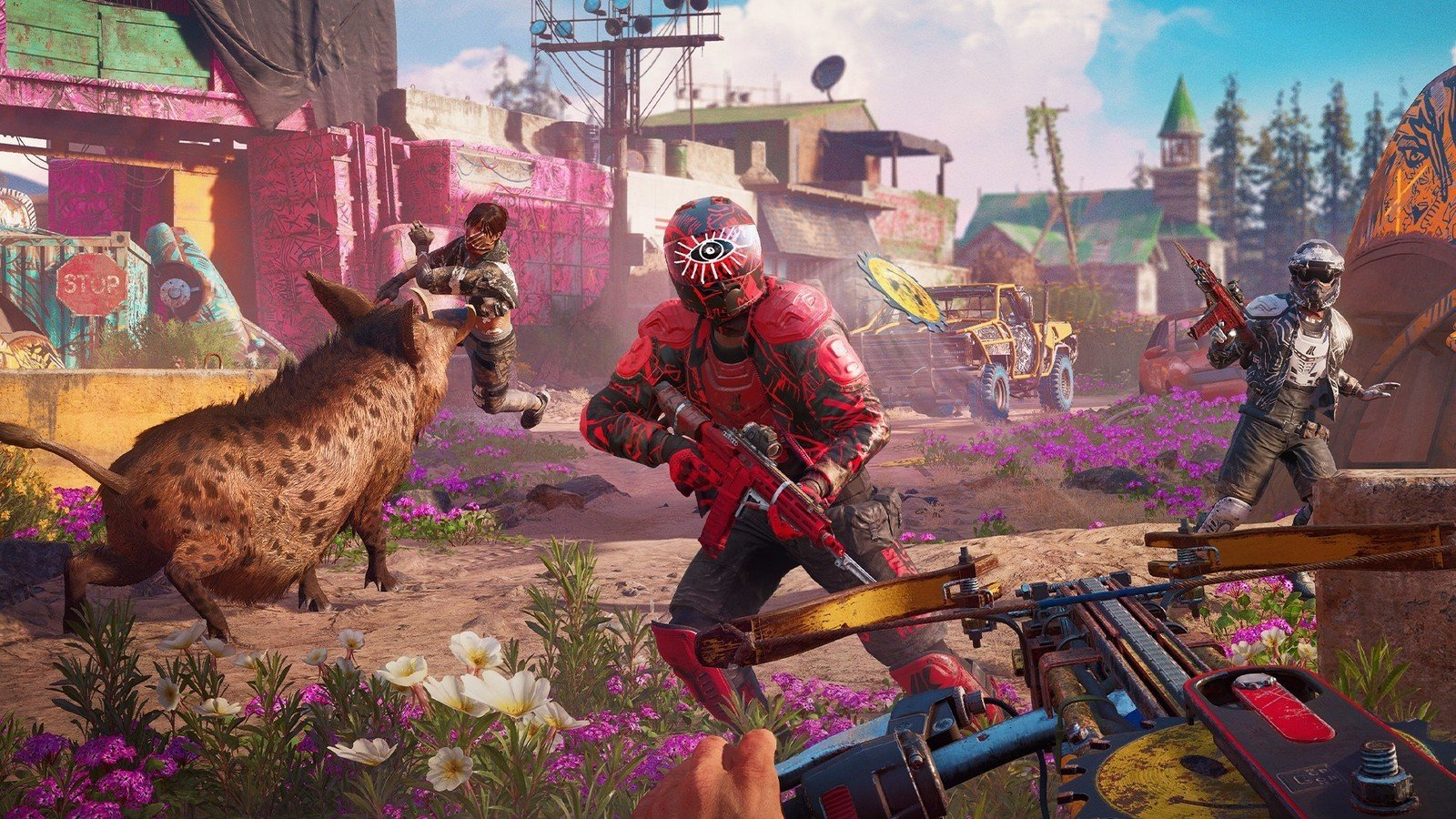 Xbox One Controls And Buttons In Far Cry New Dawn Shacknews