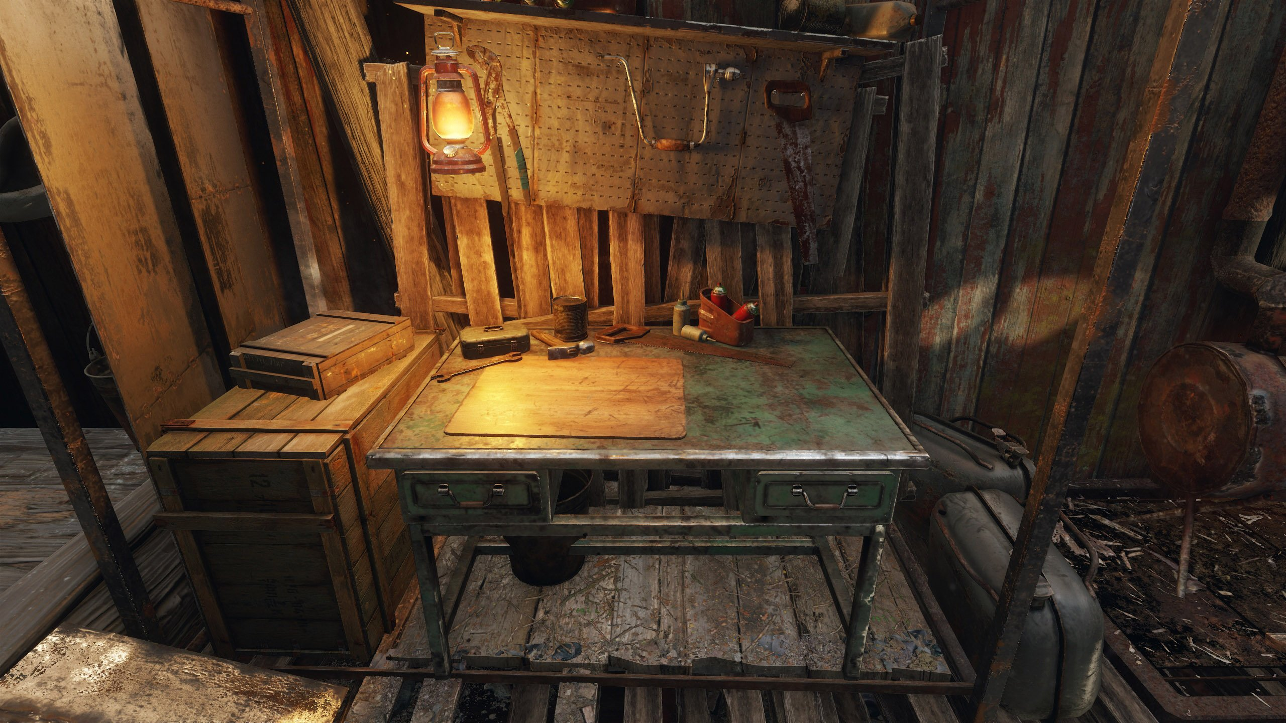 Superb Where To Find A Workbench In Metro Exodus Shacknews Machost Co Dining Chair Design Ideas Machostcouk