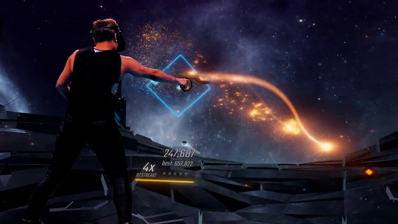 Audica is a VR rhythm shooter from the makers of Rock Band
