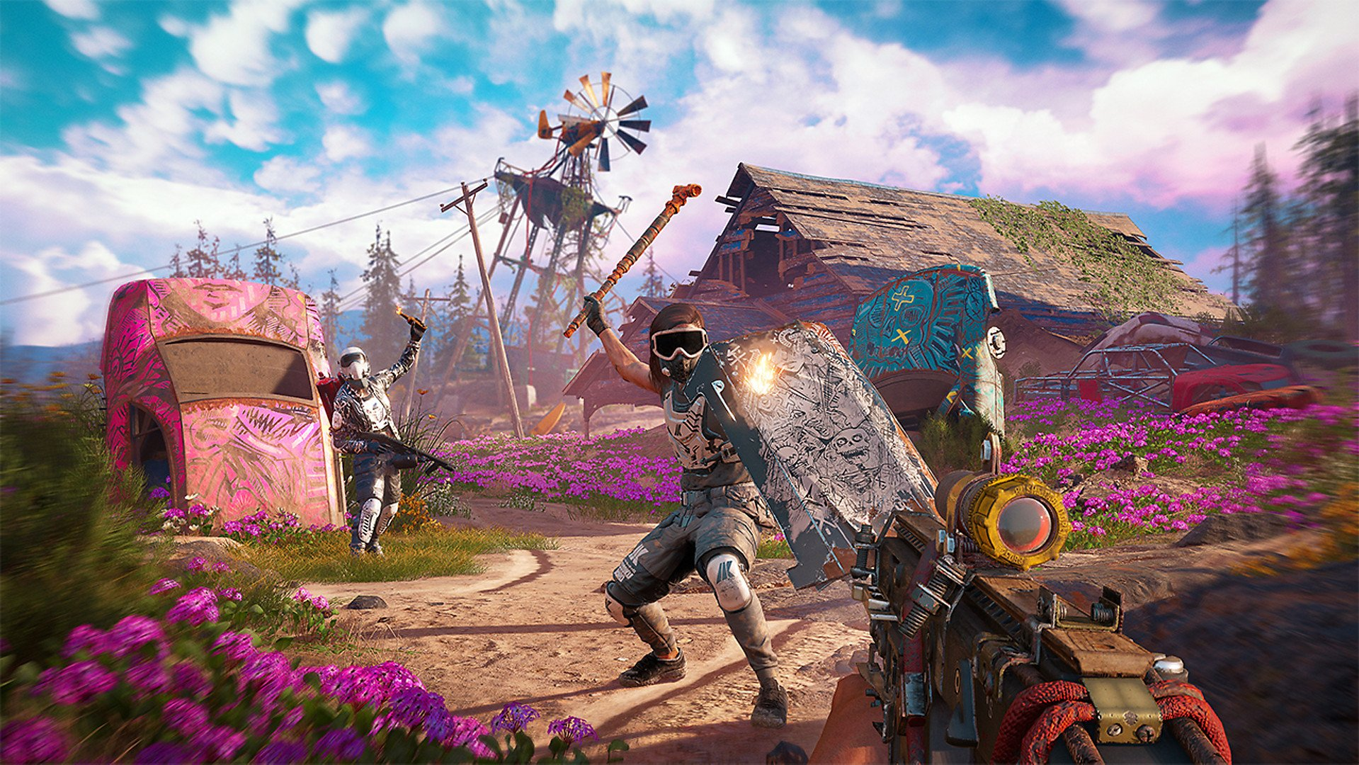 Ps4 Controls And Buttons In Far Cry New Dawn Shacknews