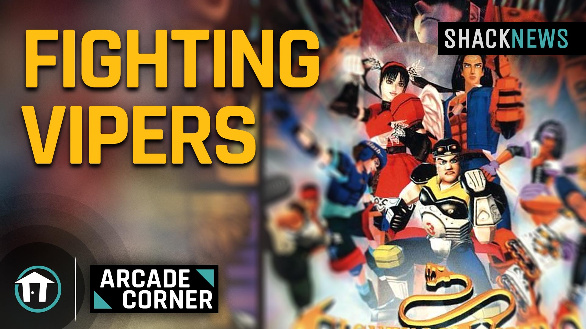 Shack's Arcade Corner: Fighting Vipers | Shacknews