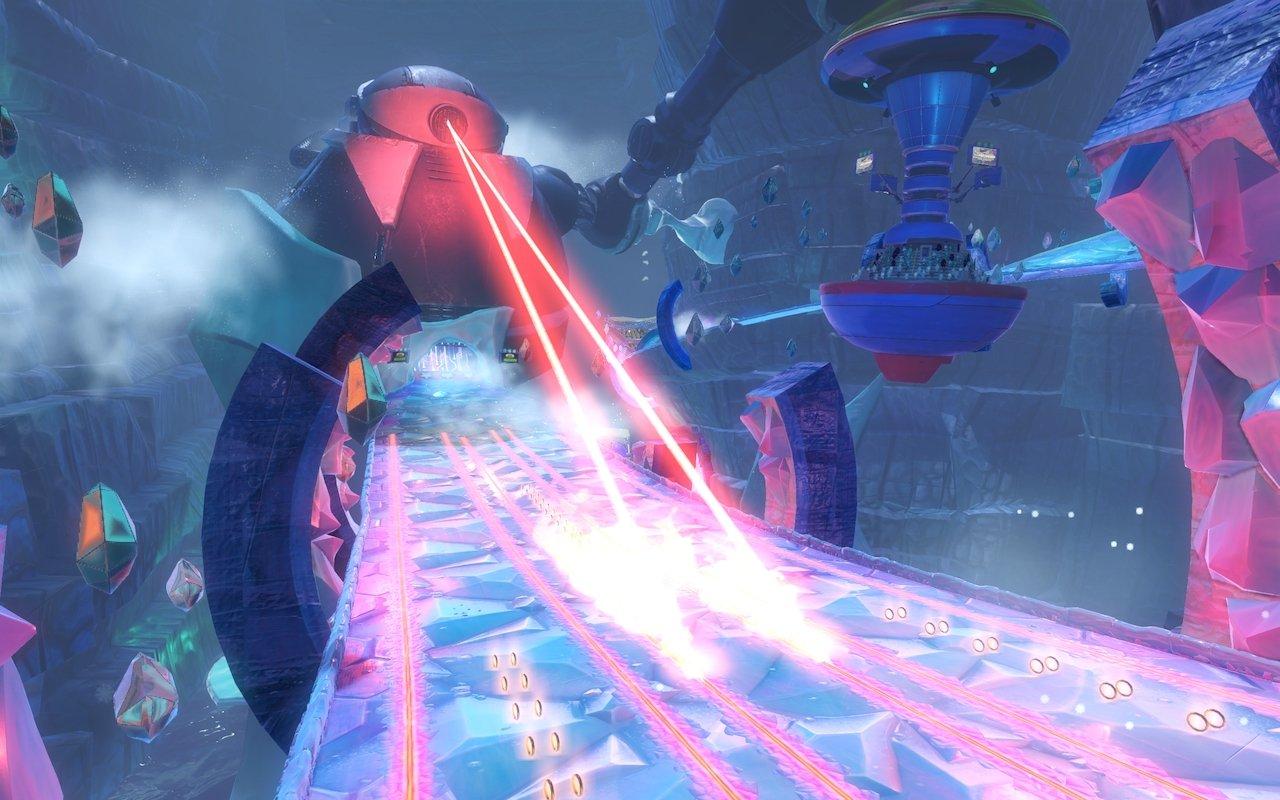 "Sega debuts Team Sonic Racing ""Frozen Junkyard"" song and track"