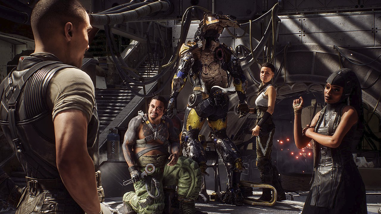 Voice actors and cast in Anthem game | Shacknews