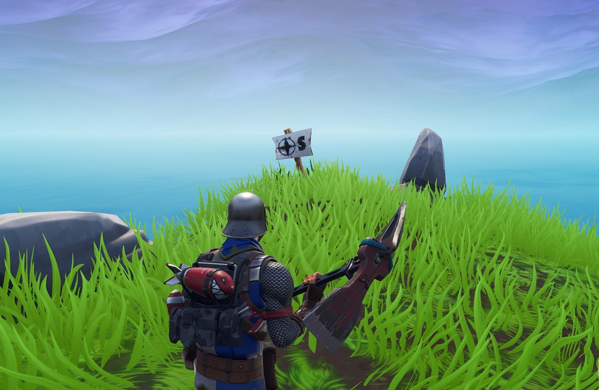 Fortnite Visit The Furthest North South East West Points Of The