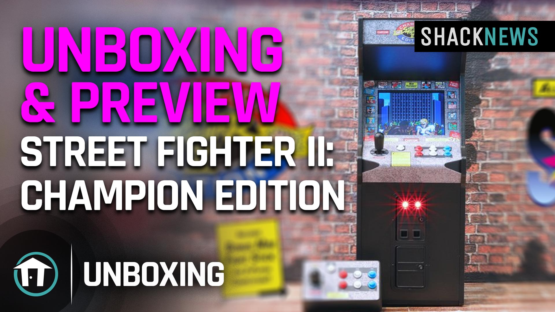 Unboxing Preview Street Fighter 2 Champion Edition Shacknews