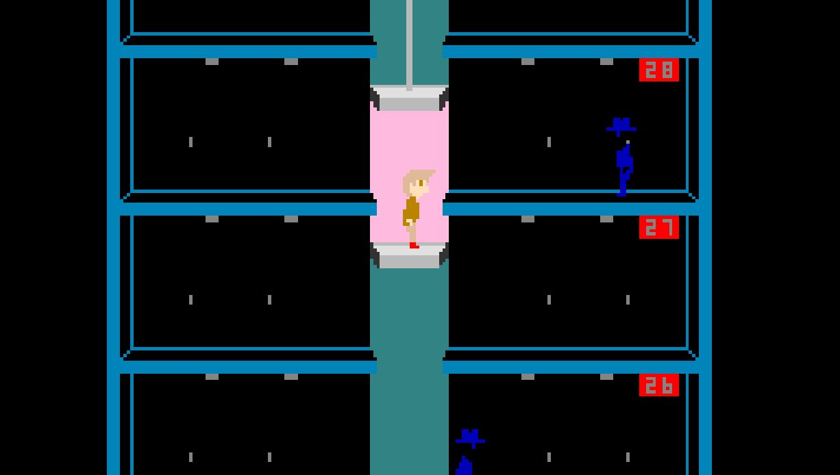 Arcade Archives Elevator Action out now on Nintendo Switch