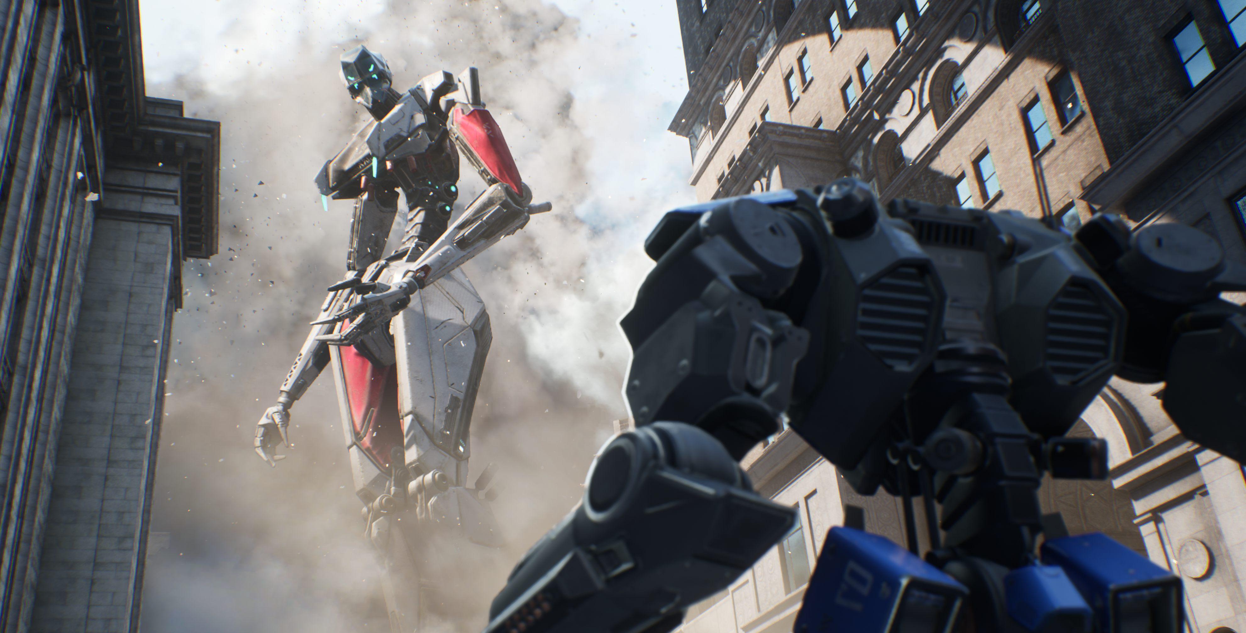 Epic demos Robo Recall Chaos destructible physics gameplay