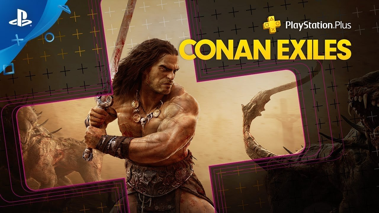 April free PlayStation Plus games include MMO Conan Exiles