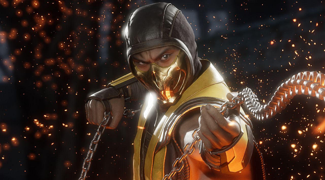 Mortal Kombat 11 Gameplay Scorpion Costumes And Weapons Shacknews