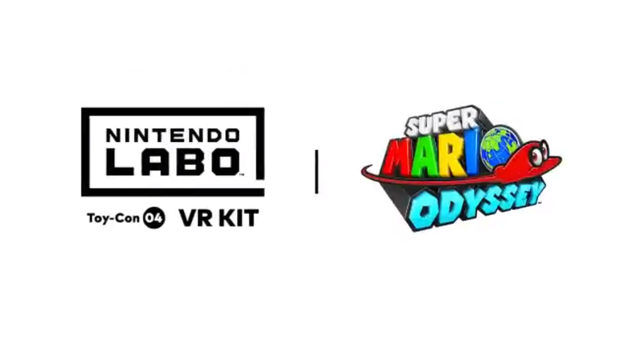 Labo Toy Con Vr Googles Get Botw And Mario Odyssey Experiences