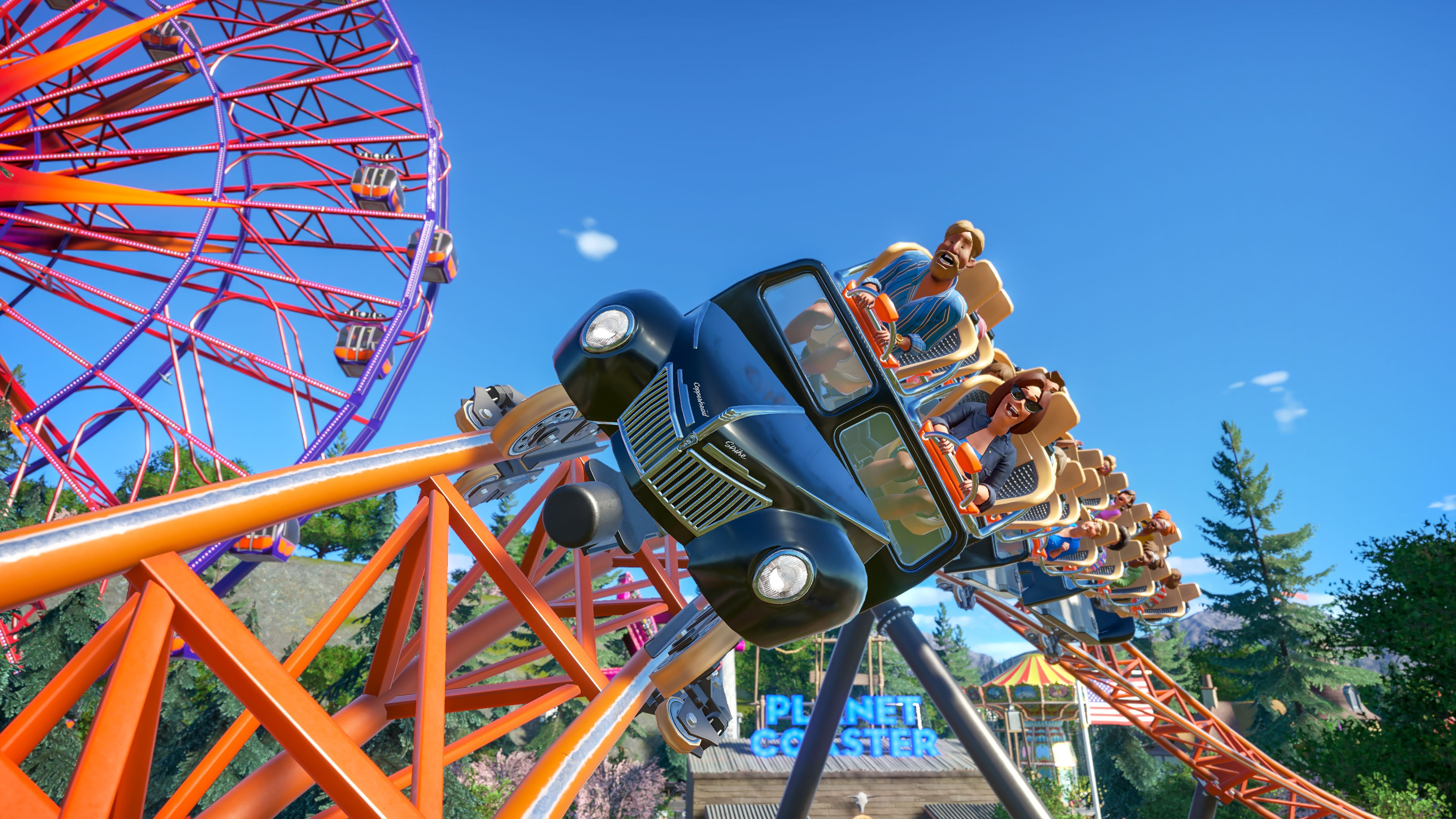 Planet Coaster adds free Copperhead Strike ride next week | Shacknews