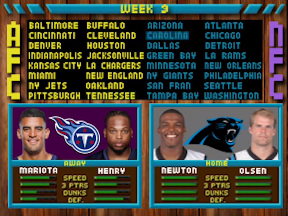 Panthers Reveal 2019 Nfl Schedule With Fun Video Game Medley Shacknews