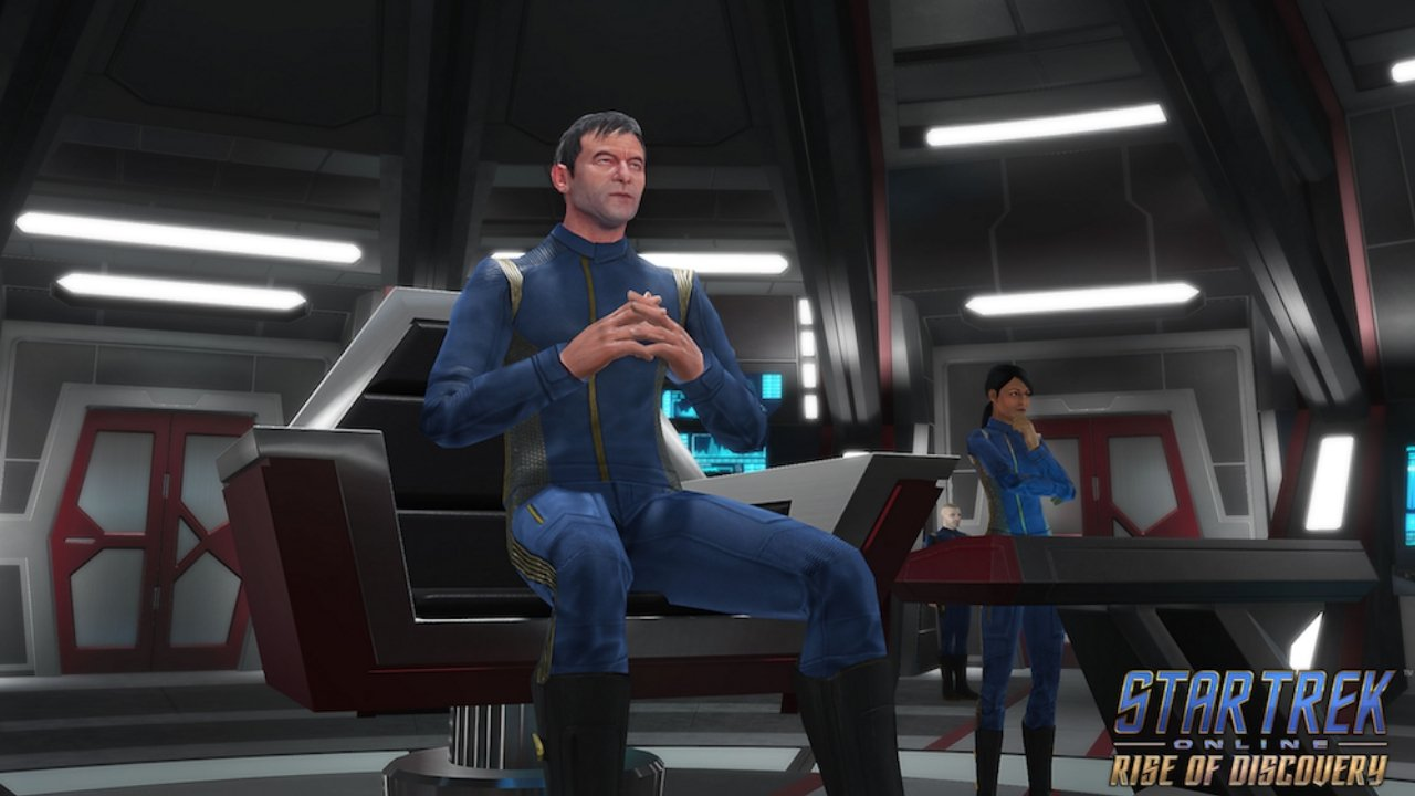 Star Trek Online: Rise of Discovery adds Jason Isaacs and Rekha Sharma