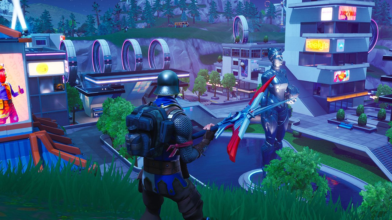 fortnite season 9 map changes neo titled and mega mall shacknews - new fortnite season 9 teaser 3