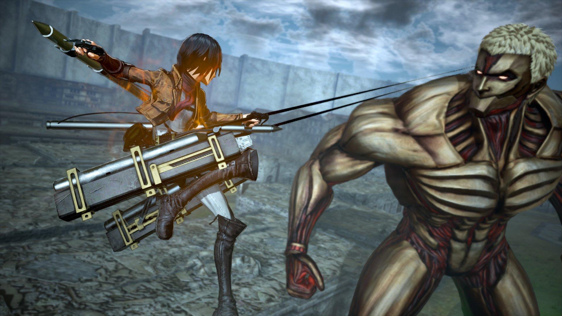 Attack On Titan 2 Final Battle Hands On Impressions Shacknews