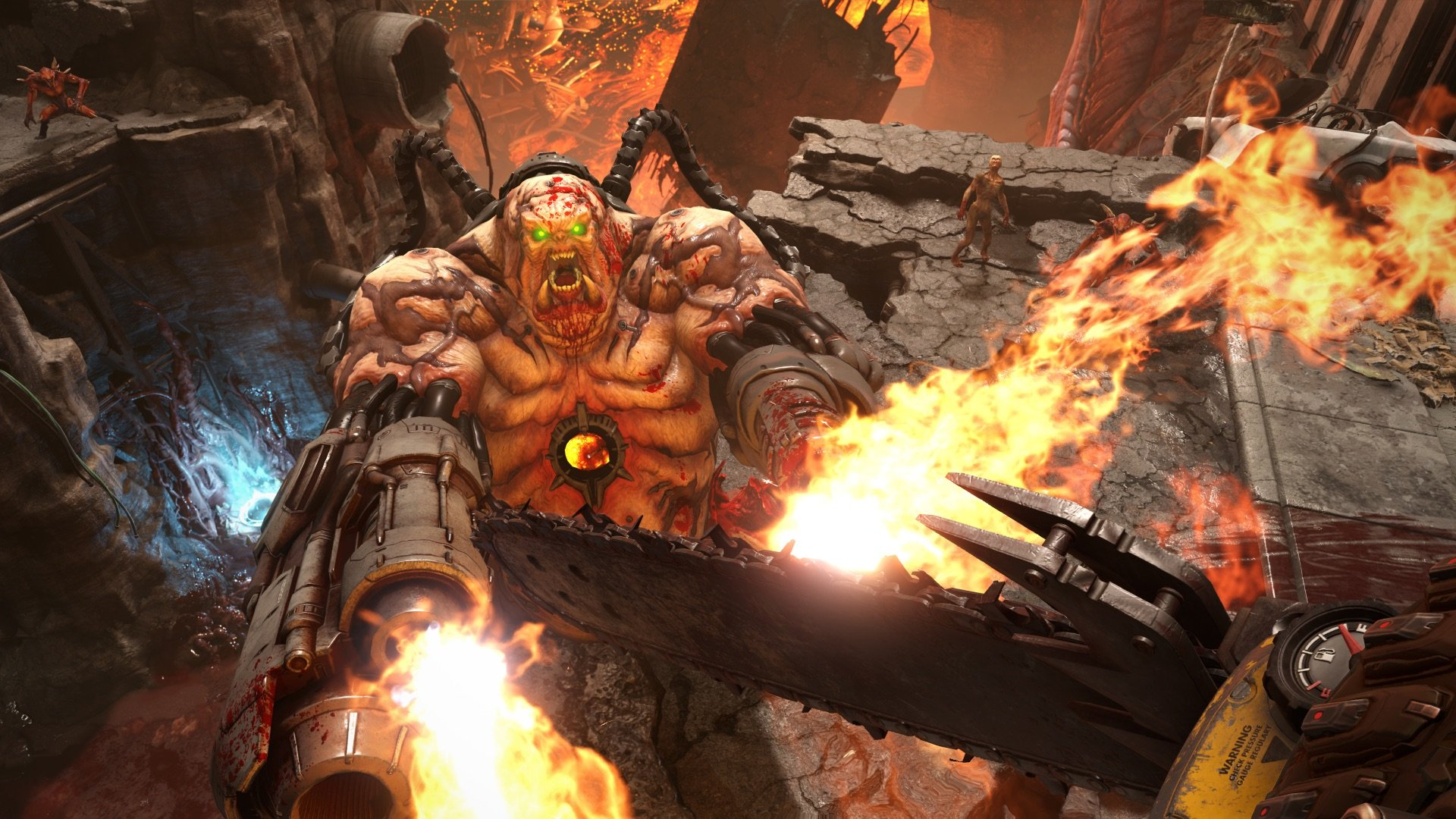 New Doom Eternal Concept Art Shows Off Hell S Gate Shacknews