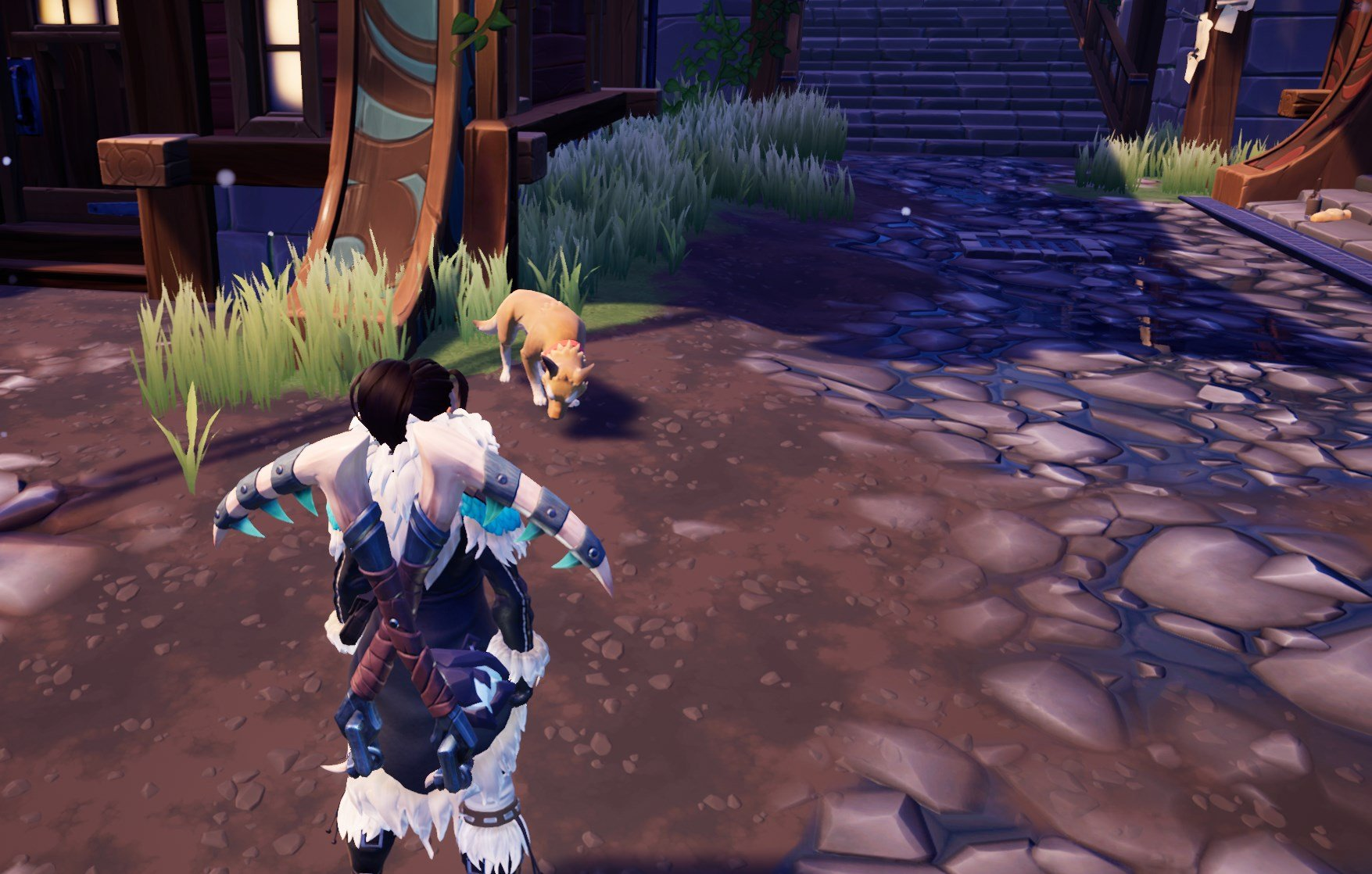 How to pet a dog in Dauntless on PC, Xbox One, & PS4