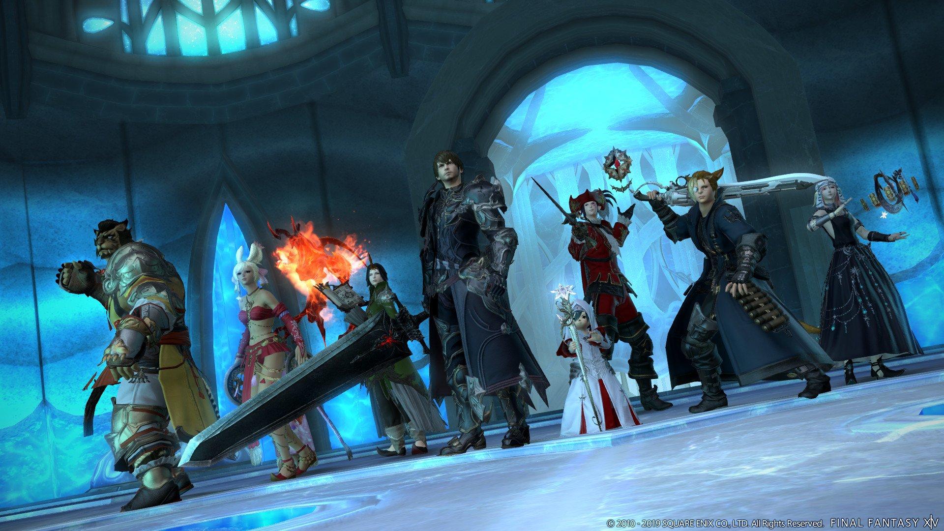 Final Fantasy 14: Shadowbringers Dohn Mheg dungeon gameplay | Shacknews
