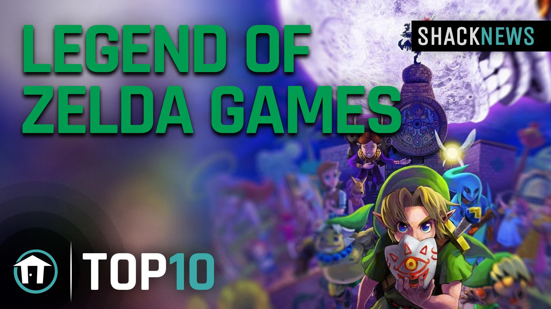Top 10 The Legend of Zelda games of all-time | Shacknews