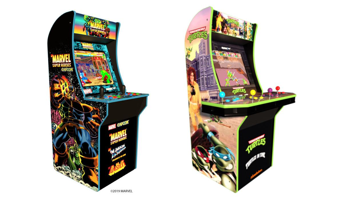 Arcade1Up details new Marvel and TMNT cabinets at E3 2019
