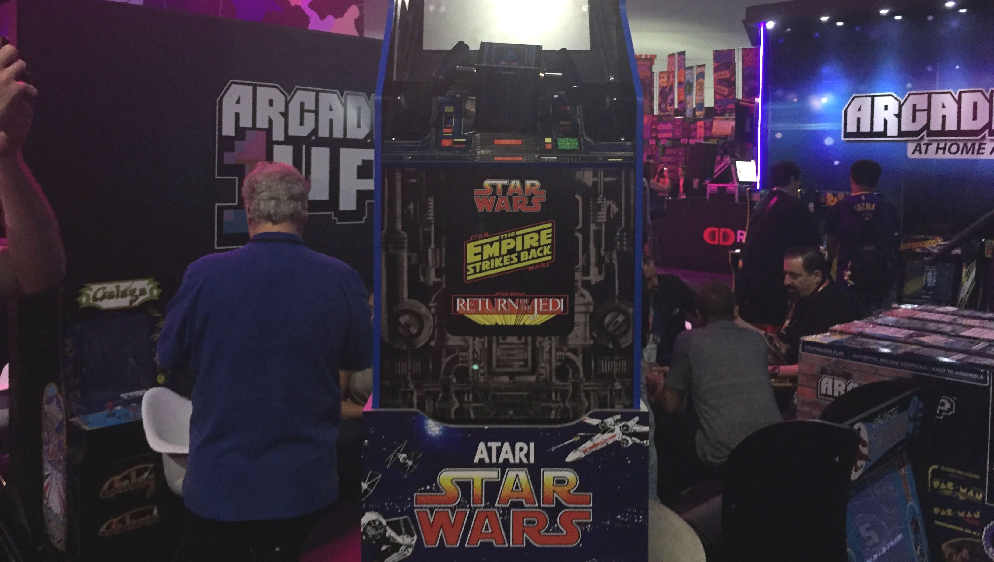 Arcade1Up unveils Star Wars arcade cabinet at E3 2019 | Shacknews