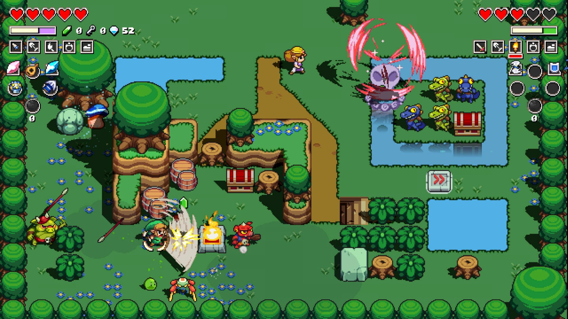 How to get the Flippers in Cadence of Hyrule | Shacknews