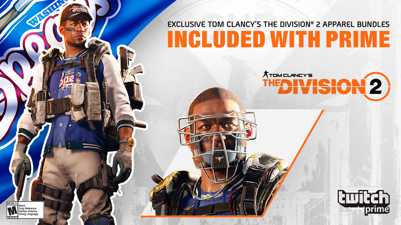 The Division 2 gets sweet series of Twitch Prime loot ...