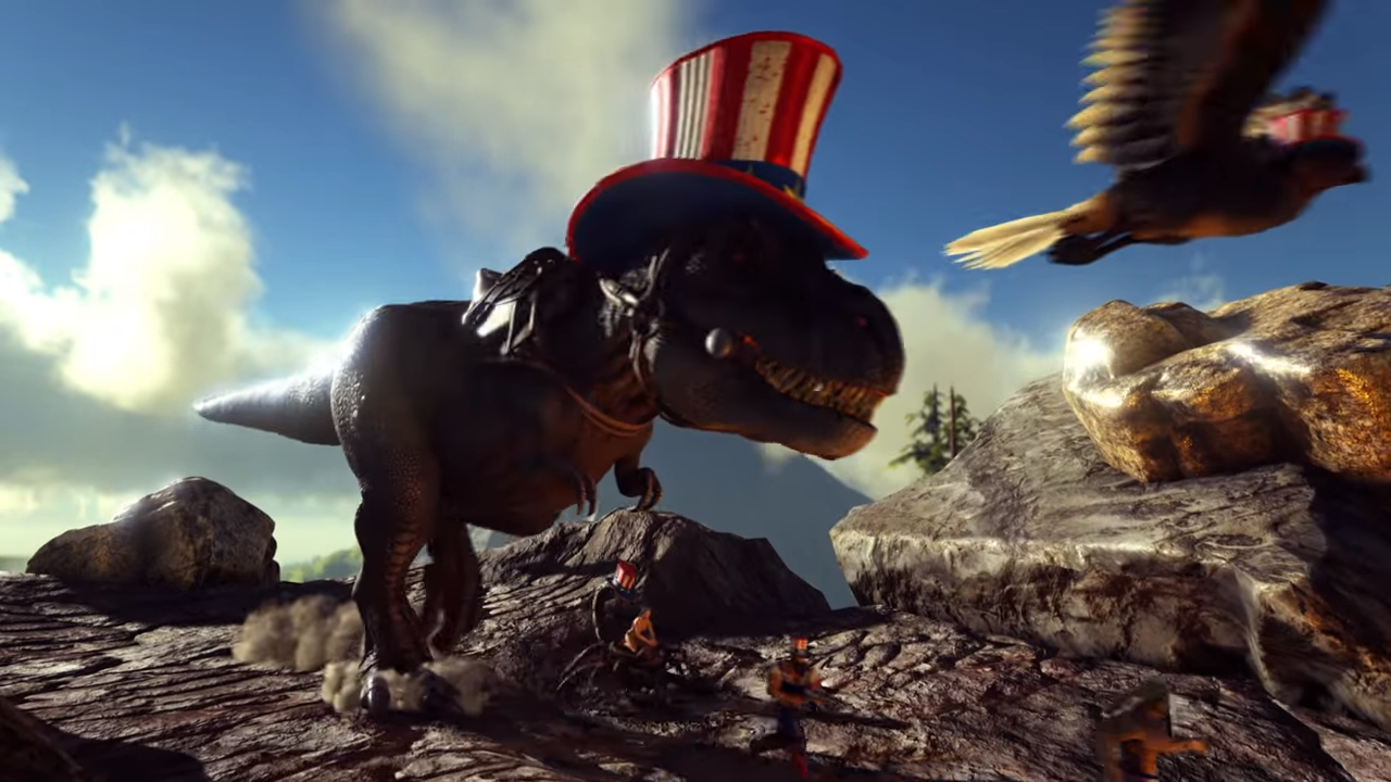 ARK: Survival Evolved salutes America with Summer Bash event