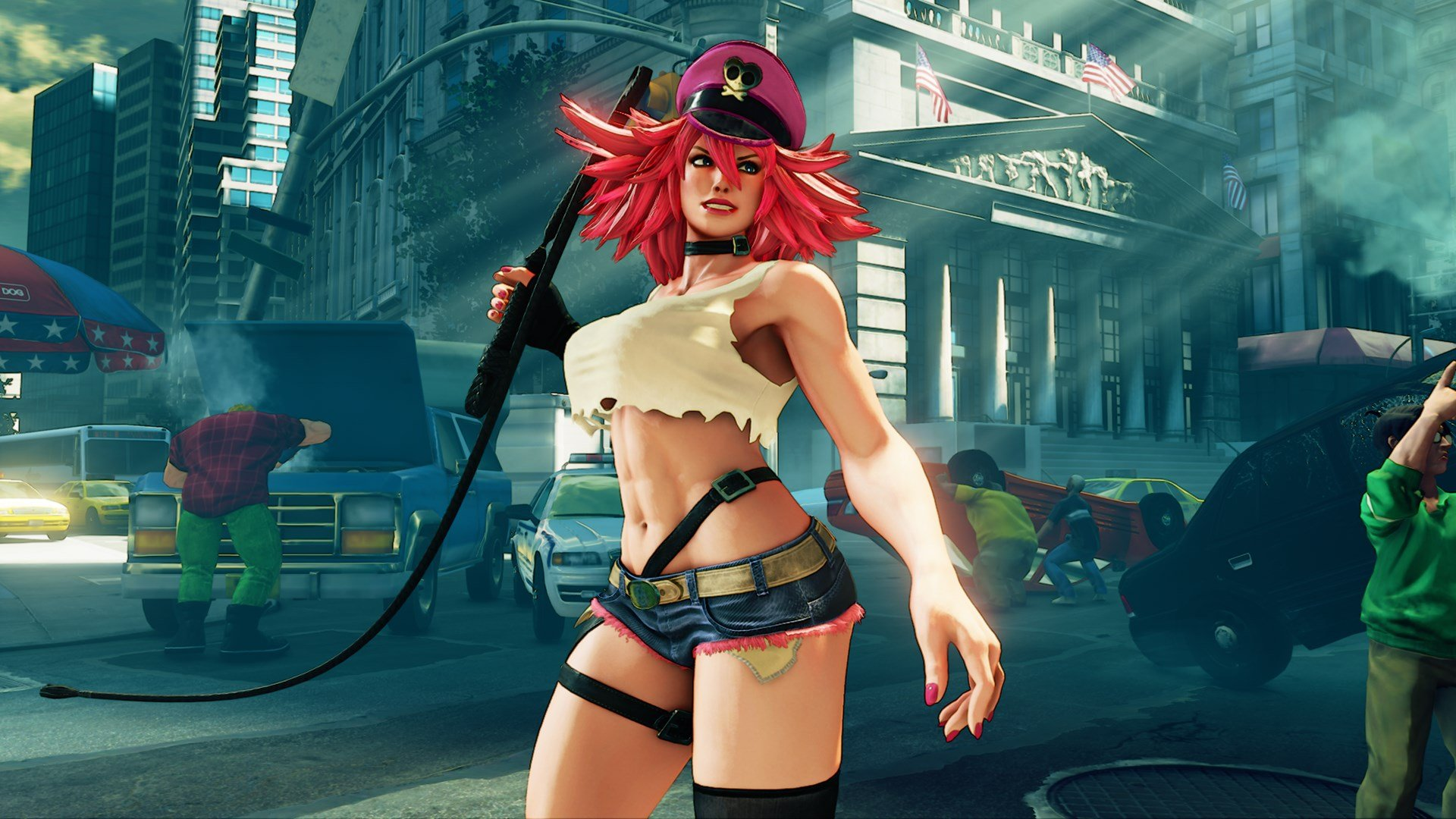 Street Fighter 5 A Guide To Poison And Her Moves Shacknews