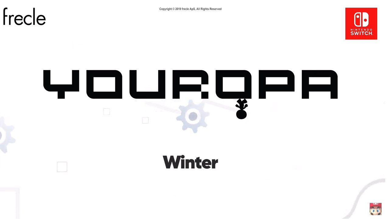youropa flips onto nintendo switch in winter
