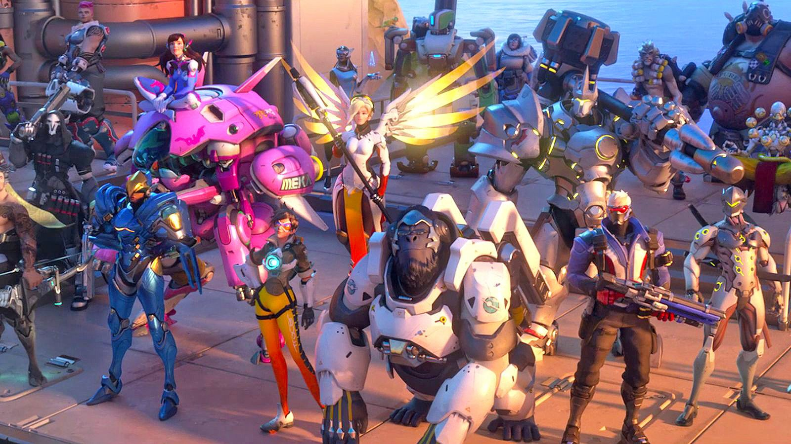 Overwatch for Switch potentially leaked by Amazon case