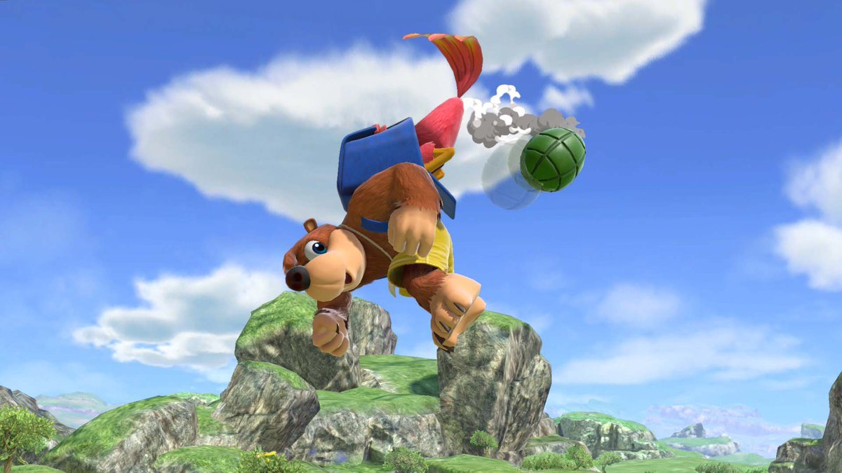 Banjo & Kazooie's Super Smash Bros  Ultimate moves detailed