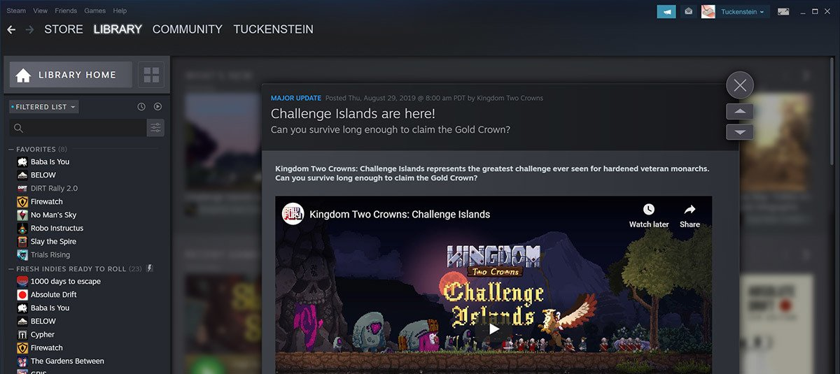 Valve to update dev tools for Steam events and announcements