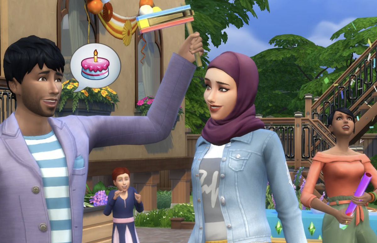 The Sims 4 5th anniversary update adds Muslim-inspired