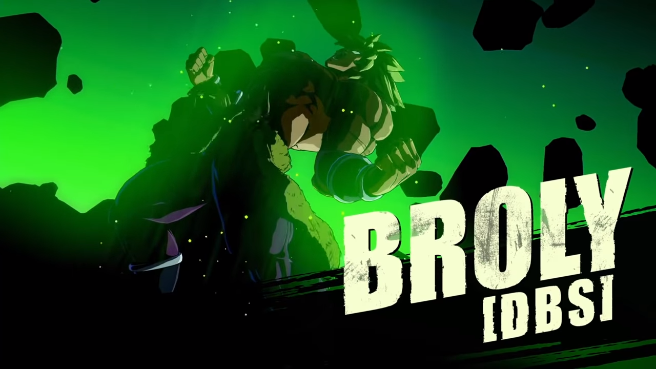 Broly Dbs Sheds His Armor To Wrap Up Dragon Ball Fighterz Season