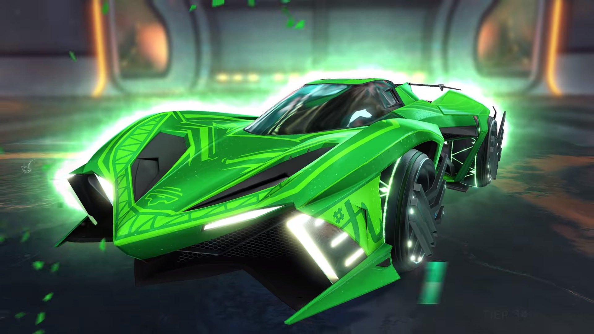 Rocket League New Car >> Rocket League Goes Anime With Rocket Pass 5 Next Week