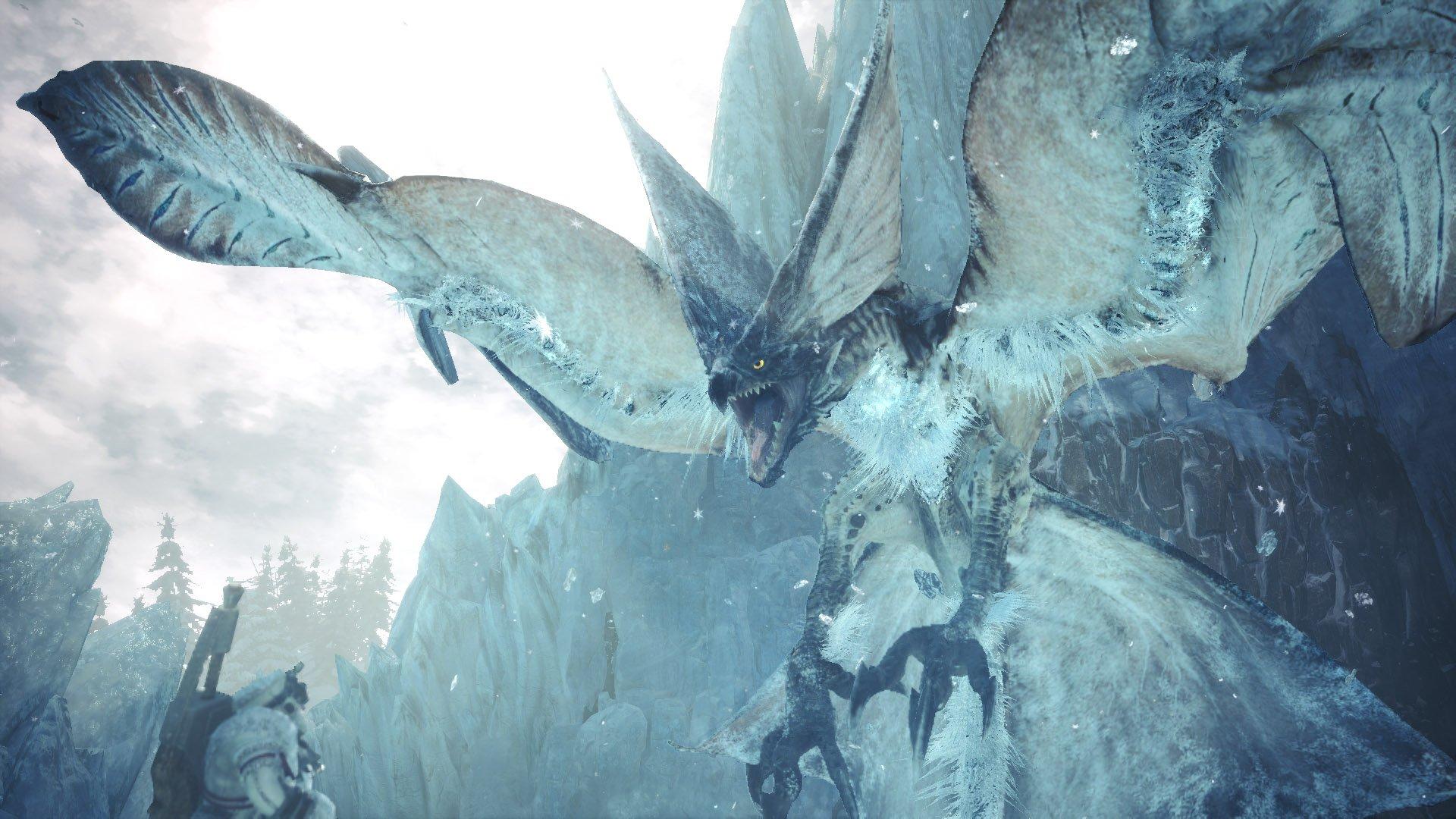 How To Get Obsidian Icetalon In Monster Hunter World Shacknews