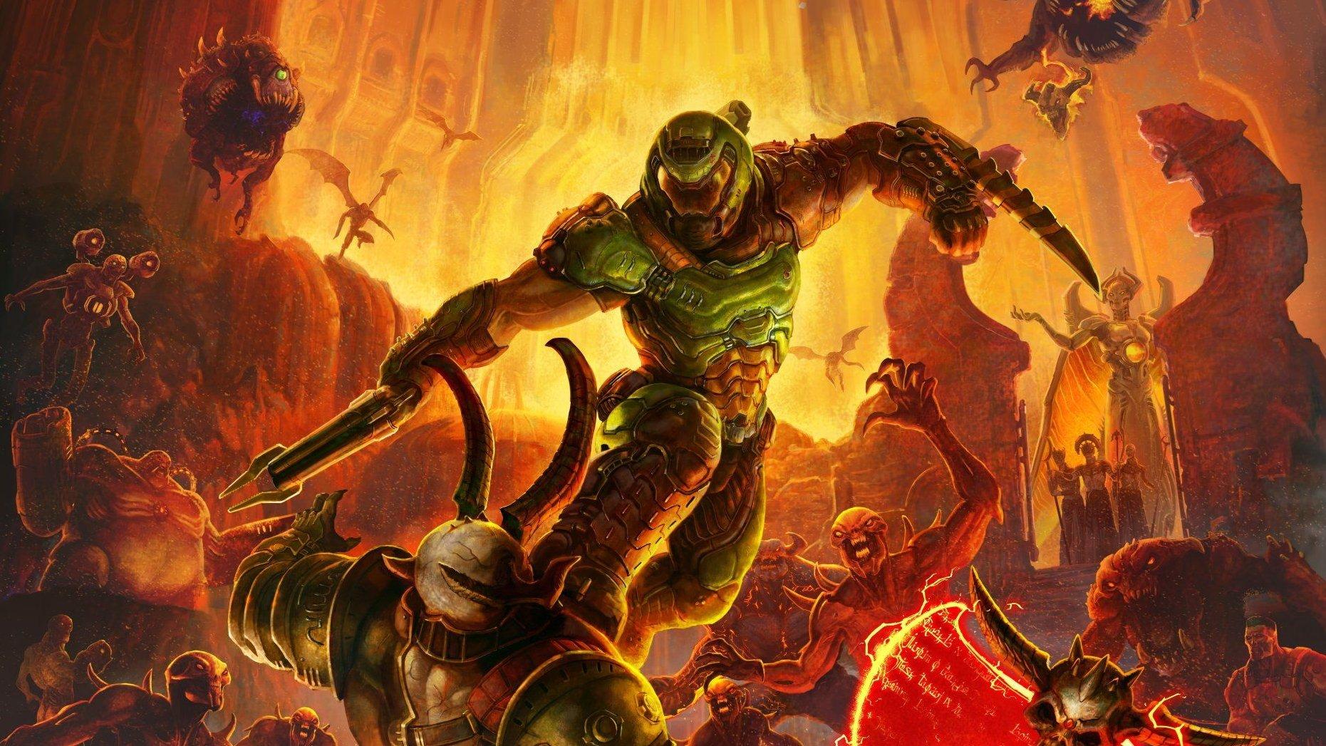 Doom Eternal Pc Build Guide A Shrine To The Slayer Shacknews