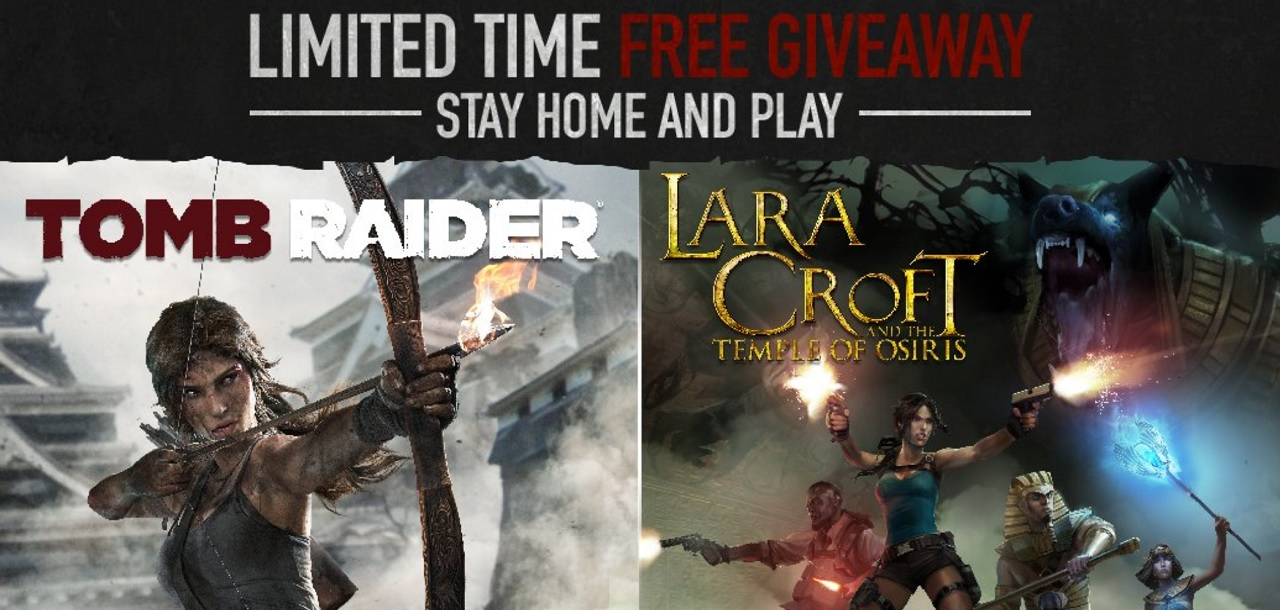 Square Enix Makes Tomb Raider Free On Pc To Help Players Stay At