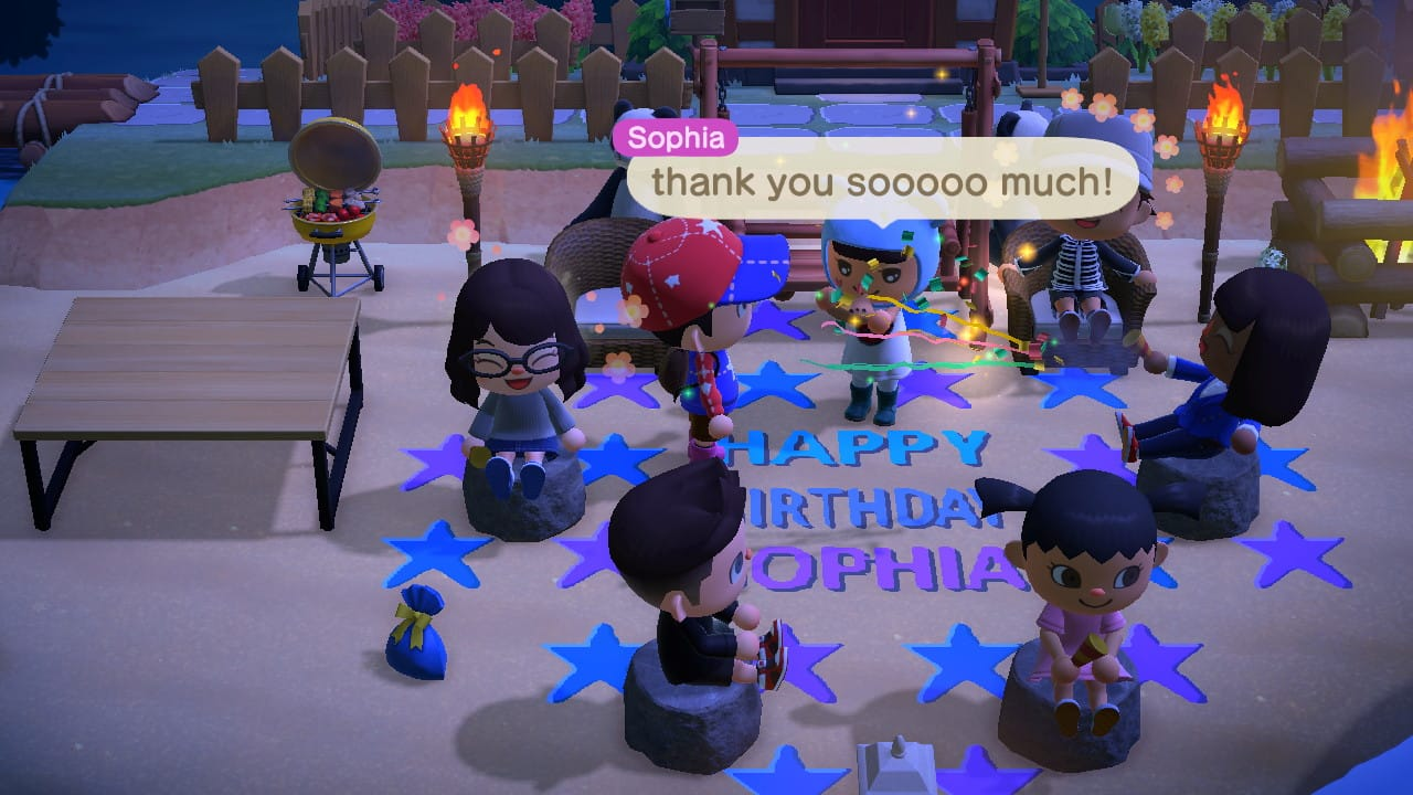 Animal Crossing: New Horizons players threw a friend a birthday ...