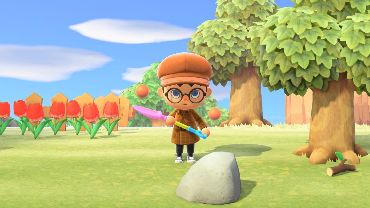 ¿Puedes mover las rocas en Animal Crossing: New Horizons?