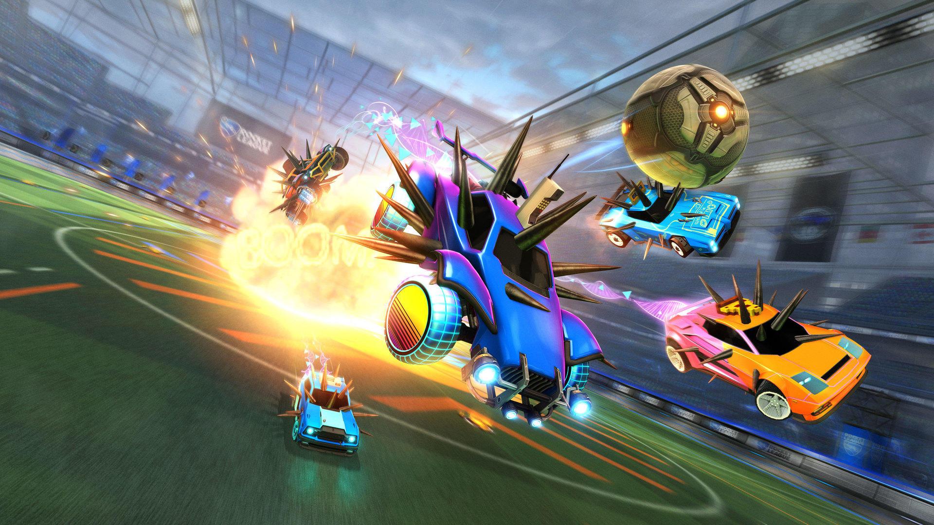 Rocket League devuelve a Spike Rush este fin de semana